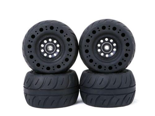 115mm Off-road Rubber wheels with Kegel core for electric skateboard