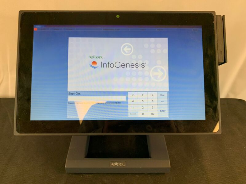 Agilysys J2 225 Integrated Touch Terminal