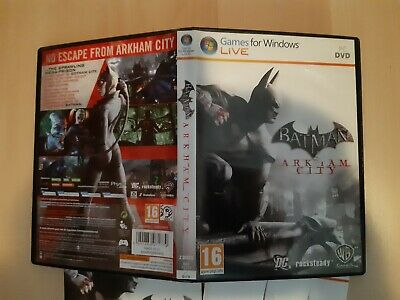 Used, Batman Arkham City (pc dvd-rom) for sale  Shipping to Nigeria
