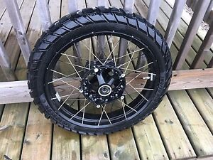 BMW R1200GS LC front wheel & tire