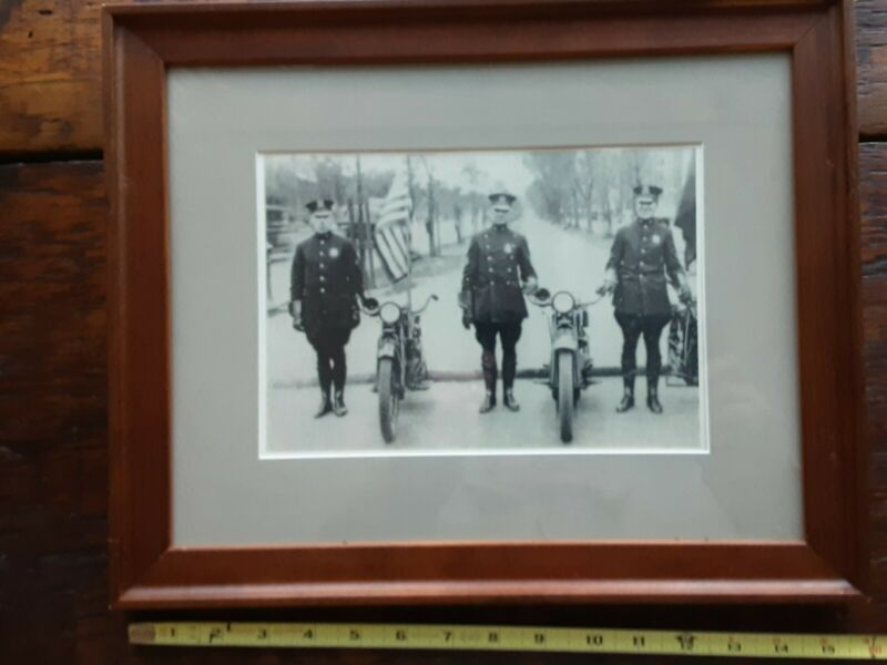 NEW YORK CITY POLICE MOTOR CYCLE SQUAD-VINTAGE 1920