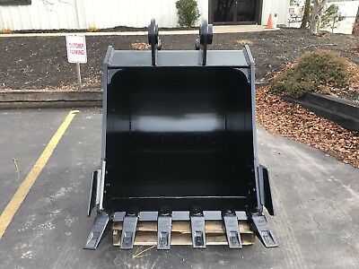 New 48 Heavy Duty Excavator Bucket For Sany Sy235c W Coupler Pins