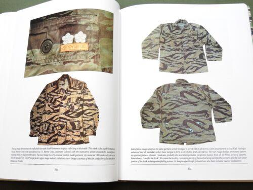 """TIGER PATTERNS"" US VIETNAM TIGER STRIPE CAMO SHIRT PANTS CAP HAT REFERENCE BOOK"