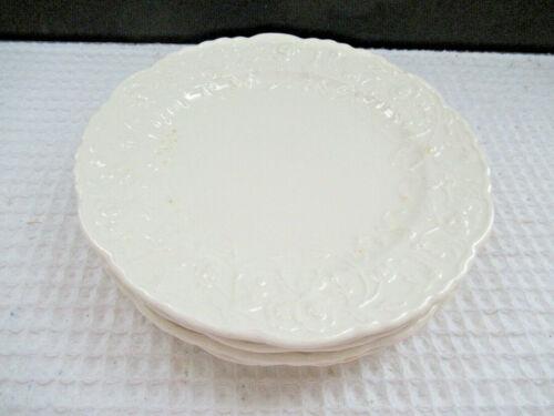 "Vintage STEUBENVILLE USA ROSE POINT Set of 5 Bread & Butter Plates 6-1/2"""