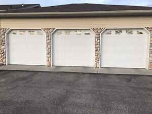 3 Garage doors, Python Lift Motors, Switches!!
