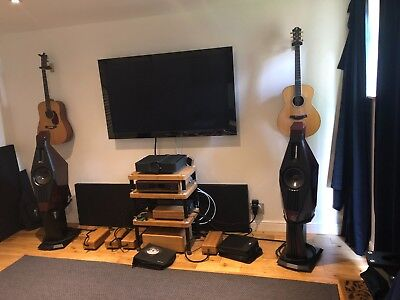 Upgraded Lawrence Audio Violin Loudspeakers Standmount Speakers TAD Raidho £17k