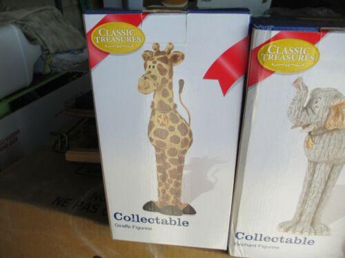 Classic Treasures Collectible Giraffe Figurine.