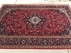 Persian Rug Kashan handmade 10 by 7 ft