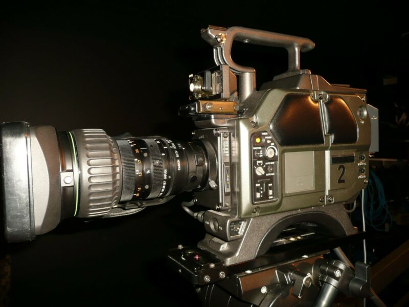Professional Hitachi Studio Camera - GREAT BUY!