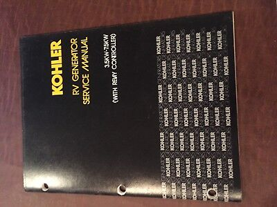 KOHLER GENERATOR  MODEL 3.5 KW-7.5KW SERVICE MANUAL 1979