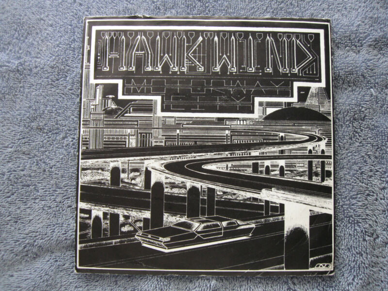 """Hawkwind Motorway City 7"""" Single"""