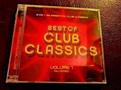 New Sealed Best of Club Classics Volume 1 DJ Mixed 2 CD (Best Club Dj Mixes)