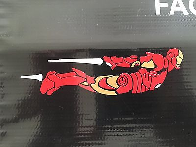 Iron Man Decal (IRON MAN DECAL STICKER VINYL WALL LAPTOP CAR 6