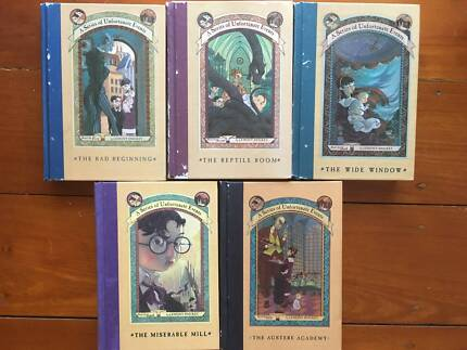 A Series of Unfortunate Events vol 1-5 Lemony Snicket