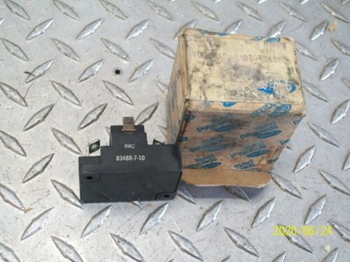 NEW CARRIER 8348B-7-10 OVERLOAD RELAY