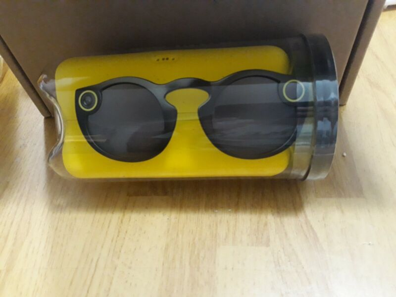 Snapchat Spectacles Glasses Black BRAND NEW 🔥 SALE FREE S&H AS IS OR DEFECTIVE!