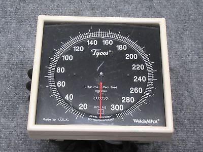 Welch Allyn Tycos 20-300 Mmhg Jewel Movement Sphygmomanometer