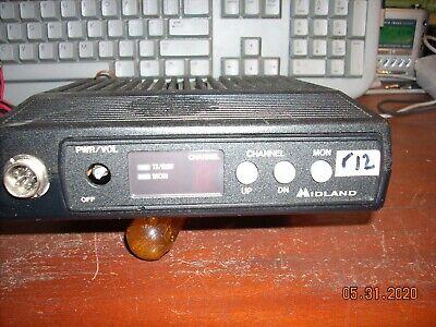 Midland Mobile 70-1336b 150-174 Mhz 30 Watt Dash Mount R12