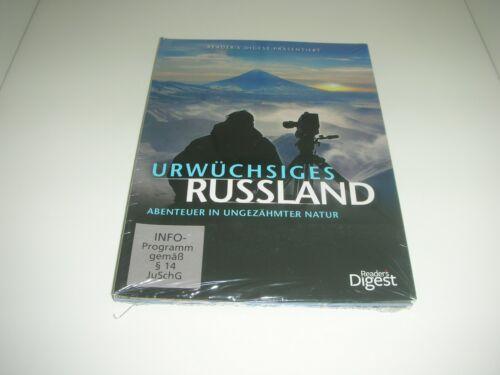 DVD´s - Urwüchsiges Russland - Abenteuer in ungezähmter Natur (3 DVDs + 1 CD)