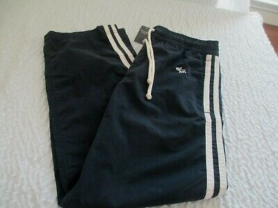 BNWT Vintage Abercrombie And Fitch Men's Size X-Small Athletic Pants Navy