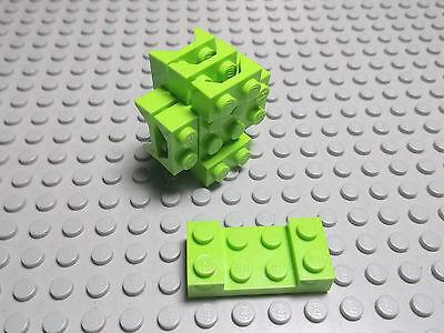 Lego 2 x Platte Bauplatte flach 41539 schwarz  8x8