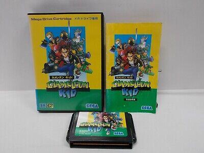 Usado, SEGA Mega-Drive -- CHAMELEON KID -- Boxed. JAPAN ACTION GAME. Work fully! 12230 comprar usado  Enviando para Brazil