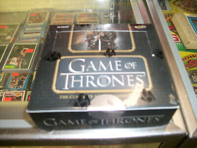 RITTENHOUSE GAME OF THRONES THE COMPLETE SERIES TRADING CARDS SEALED BOX (#7378)