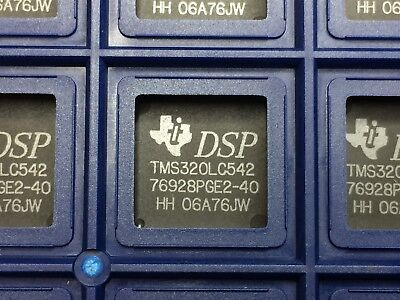 Tms320lc542pge2-40 Texas Instruments Dsp Fixed-point 16-bit 40mhz 60 Pieces