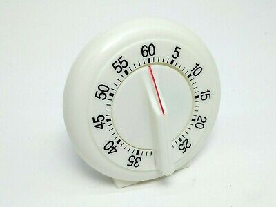 1 Hr 60 minutes Mechanical Timer Game Count Down Alarm Kitchen Cooking
