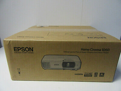 Epson Home Cinema 1060 Portable Full HD 1080p Home Theater Projector HDMI NEW