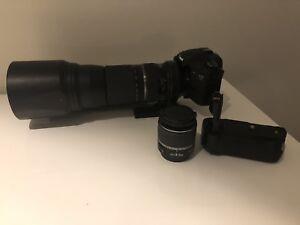Canon 7D + Grip + Tamron 150-600F5-6.3 VI DC + 18-55mm Kit Lens