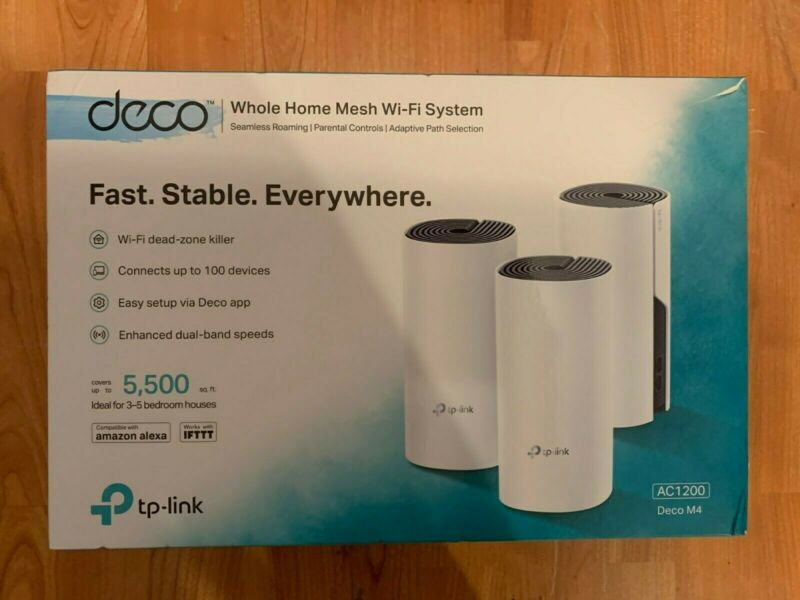 TP-Link - Deco AC1200 Dual-Band Mesh Wi-Fi System (3-Pack) - White