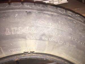4 Firestone Transforce AT TIRES