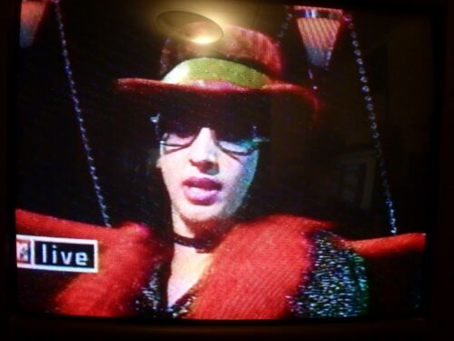 VHS  Sold as Blank   Marilyn Manson VH1 Driven show & MTV Live  Interviews  Rare