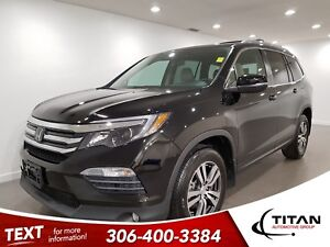 2017 Honda Pilot 8 Pass|AWD|CAM|Leather|Sunroof