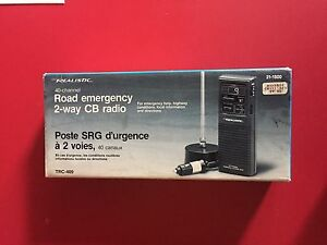 Road emergency 2-way cb radio