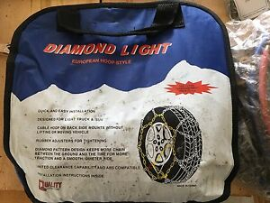 Diamond Light Truck  /  SUV Snow Chains