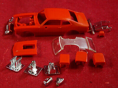 NEW RRR INJECTION MOLDED FORD MAVERICK DRAG RACING BODY KIT - AURORA T- JET DASH
