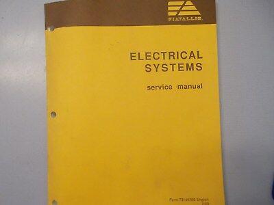 Fiat Allis Electrical Service Manual Form 73146366