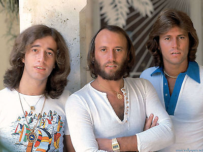 THE BEE GEES 8X10 GLOSSY PHOTO PICTURE