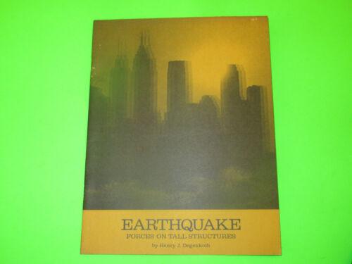 VINTAGE BETHLEHEM STEEL EARTHQUAKE FORCES ON TALL STRUCTURES BOOKLET BROCHURE