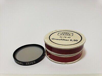 Carl Zeiss Microscope Neutral Density Filter 50 32mm Diameter Excellent