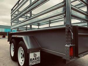(Basic Trailers) Aussie Made Cattle Crate 1990kg ATM 8x6 Holden Hill Tea Tree Gully Area Preview
