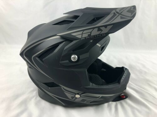 Fly Racing Fly Default  YOUTH Helmet SIZE SMALL Flat Black (1e)