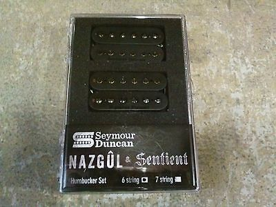 Brand New Seymour Duncan Nazgul & Sentient Set Black 6 String Humbucker Pickups