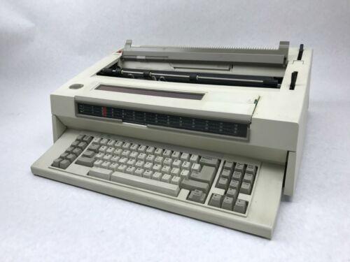 Vintage IBM Wheelwriter 30 Series II 6787 Electronic Typewriter - Powers On