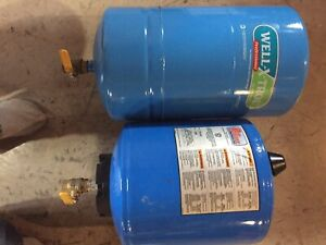 Two on pump pressure tanks. Only used for a month. Good shape.