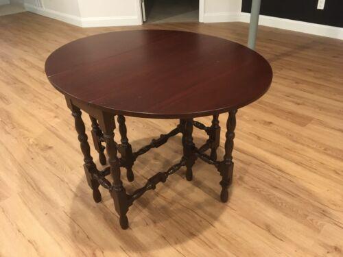 Antique Mahogany Gateleg Table - $575.00