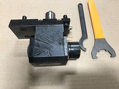 Romi Cnc Lathe Live Tool Brand New - S04806 - 90 Deg Driven Tool Er25