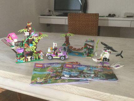 Lego friends Jungle Tree Sanctuary & Jungle Bridge Rescue